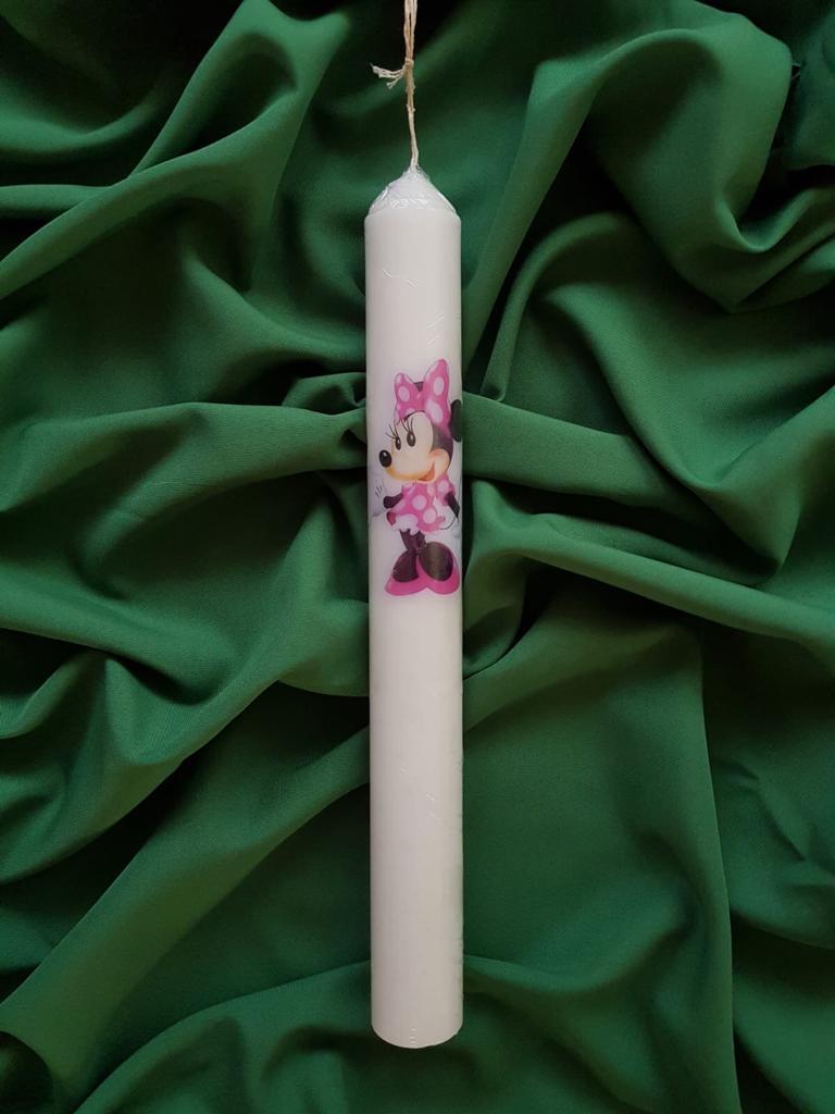Lumânare Stălp Botez M003