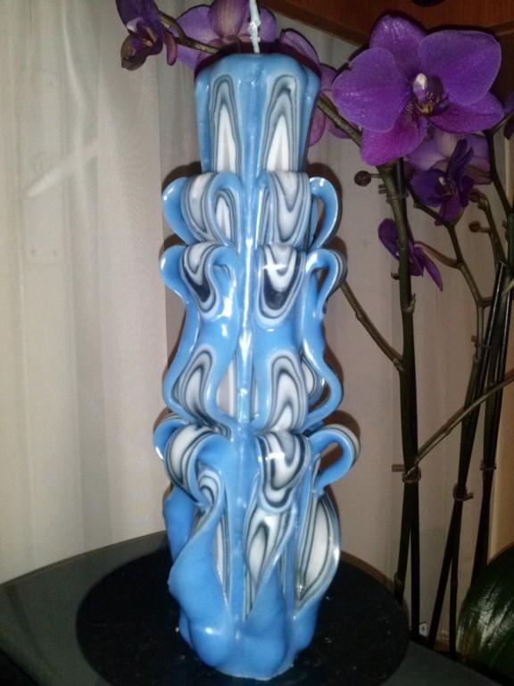 Lumânare Decorativă Sculptată M019