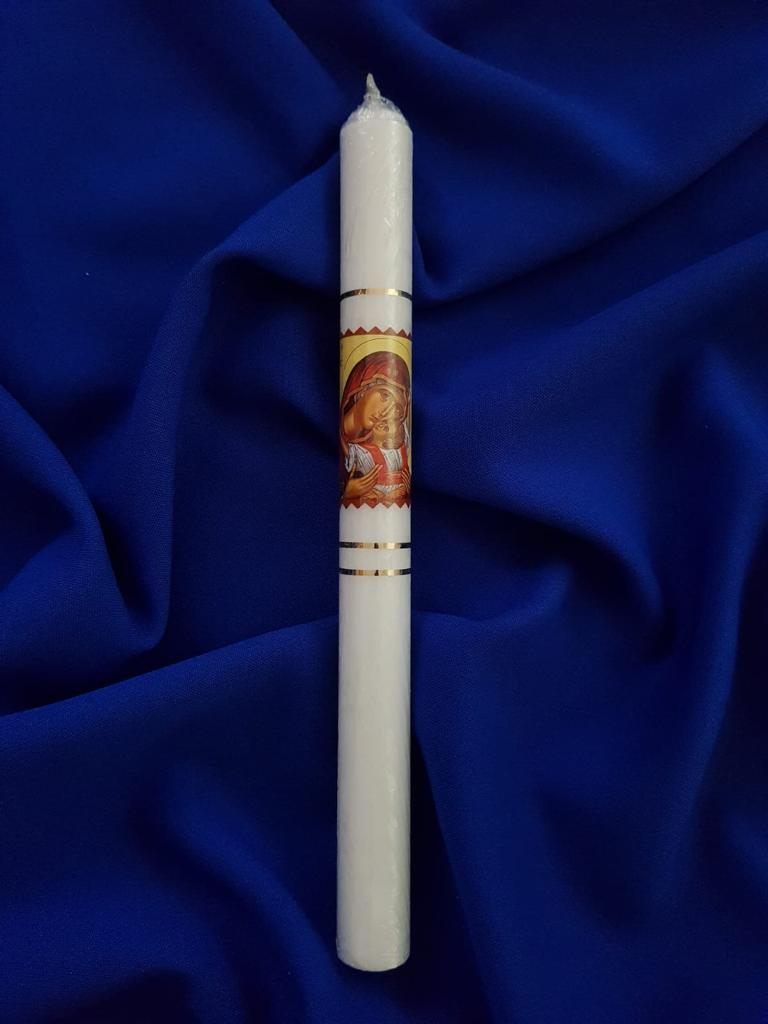 Lumânare cilindru marecu Icoana M003
